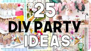 Diy Party Printables 25 Diy Party Ideas For All Ages