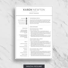 Best Resume Design 100 Best Etsy Resume Templates Graphicadi 94