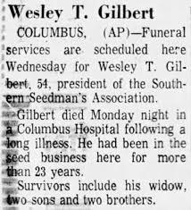 Wesley Gilbert - Newspapers.com
