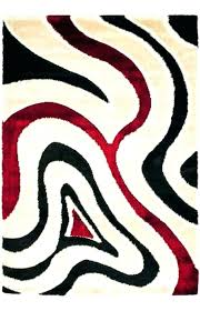 red and white area rug fascinating red black and white rug red black and white