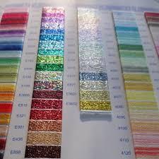 Dmc Chart Dmc Threads Colour Card