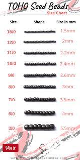 Toho Beads Color Chart Blog News What Is Toho Japanese Seed Beads Size