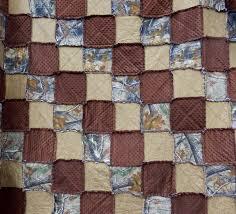 Camouflage King Size Quilt Tree Camo Rag Quilt Camouflage & Camouflage King Size Quilt, Tree Camo Rag Quilt, Camouflage Bedding,  Woodgrain Quilt, Minky Quilt, Brown Quilt, Handmade in NJ Adamdwight.com