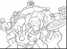 Small Picture Printable Coloring Pages Avengers Superheroes Superheroes Coloring