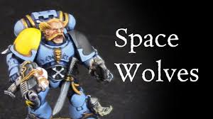 Space Wolves Colour Chart How To Paint Space Wolves Grey Hunter Space Marine