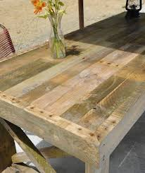 Pallet Tables DIY. recycled pallet farm table