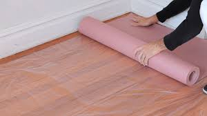 How To Protect Your Floors House Painting Youtube