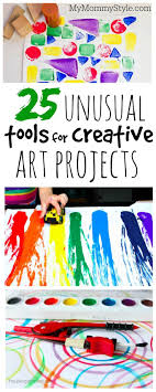 art and craft ideas for toddlers pinterest. 25 unusual tools for creative art projects. toddler and craft ideas toddlers pinterest
