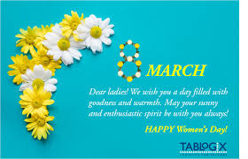 <b>Happy Women's Day</b>
