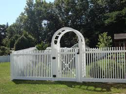 picket fence gate with arbor. Picket Fence Gate With Arbor