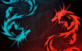 Neon Dragon Wallpaper Download