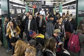 crowded subway train station. Modren Crowded A Packed Subway Platform During An April Power Outage Photo By Drew  AngererGetty Images Throughout Crowded Subway Train Station T