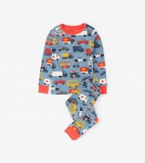 boys sleepwear us rush hour long sleeve pajama set