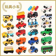 Free Shipping <b>Sound and Light</b> of Magnetic Train Car Ambulance ...