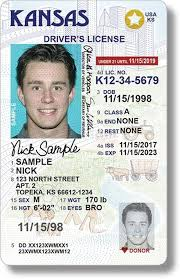 Driver's Real City Star License Be Getting Kansas Id Frustrating The Can