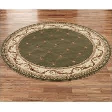 decoration round accent rugs small circular green rug