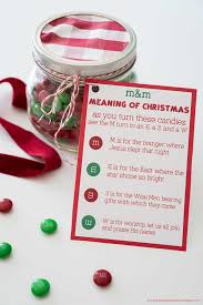 keep the reason for the season in mind with this printable m m poem
