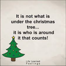 Christmas Tree Quotes Stunning Very Motivational Quotes It Is Not What Is Under The Christmas