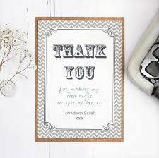 hen party and wedding 'thank you' card by precious little plum Wedding Thank You Cards Grandparents hen party and wedding 'thank you' card wedding thank you card wording grandparents