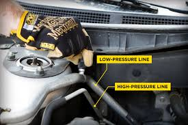 how to the low pressure a c port on your car ac pro ac pro how to low pressure ac