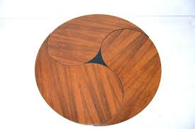 ying yang table ole yang table in rosewood produced by son funtopia yin yang glass round ying yang table