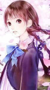 50+] Anime Girl Mobile Wallpaper on ...