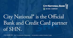 shn and city national bank announced today a multi year sponsorship agreement making city national bank the official bank and credit card partner of shn
