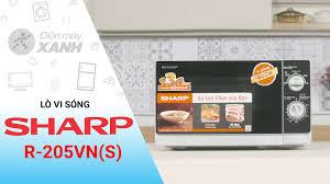 Lò vi sóng SHARP R-205VN(S) 20 lít - dienmayxanh.com