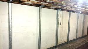 bowed basement walls some methods of