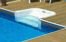 Above Ground Pool Steps Cheap Aqua Star Allamerican Deckable Pool