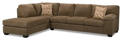 brown chaise sofa. Delighful Brown Morty Chenille Sectional With Left Chaise  BrownSofa Sectionnel En  Chenille Avec Fauteuil Long De Gauche Brun Throughout Brown Sofa O