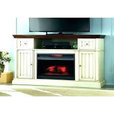 flat panel gas fireplace screen above
