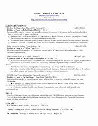 Free Nursing Resume Templates Fresh Nursing Resume Template Free 70