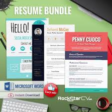 Resume Modern Temp 3 Resume Templates Bundle Resume Teacher Resume Temp