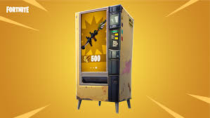 How To Reset A Vending Machine Awesome Fortnite' Vending Machines Should Help To Level The Battle Royale