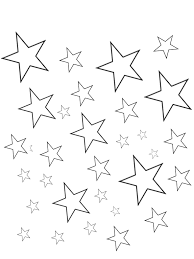 printable star free printable star coloring pages for kids 4 also