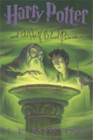 harry potter and the half blood prince book cover us