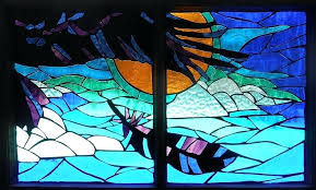 mosaic stained glass raven glass art mosaic stained glass raven by van mosaic stained glass bird feeder