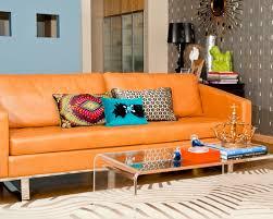 residence orange bedroom david howell design