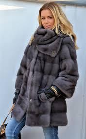 mink furs fantastic graphite royal saga mink fur coat with golf