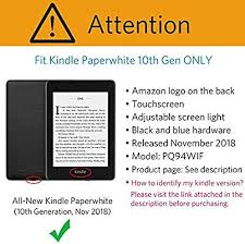 CoBak Kindle Paperwhite Case - All New PU Leather ... - Amazon.com