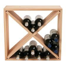 wine bottle storage furniture. Amazon.com: Wine Enthusiast 24 Bottle Compact Cellar Cube Rack (Mahogany),: Home \u0026 Kitchen Storage Furniture