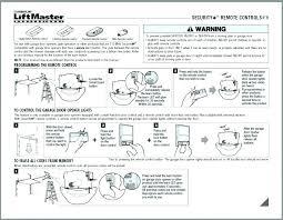 resetting liftmaster garage door opener remote won t program regarding how to a decor 35