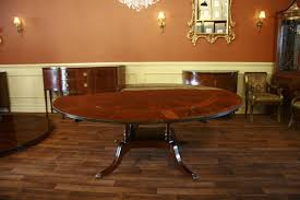 round dining table with leaves 60 84 round dining table seats 6 10 people