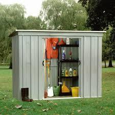 yardmaster 8 x 4 pent metal shed
