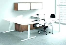 contemporary glass office. Contemporary Trinity 46 Black And Glass Computer Desk With Drawers Modern  Office Design Cubicles Big Furniture Contemporary Glass Office N