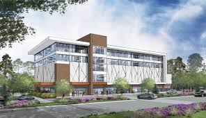 office building design concepts. Office Building Design Concept Art. Entry View. Concepts A