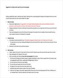 write a report 10 report writing examples pdf