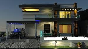 Small Picture Impressive Design New House In Pakistan 14 10 Marla Modern Plan