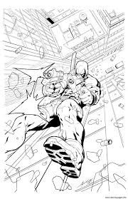 Small Picture deadpool 11 Coloring pages Printable